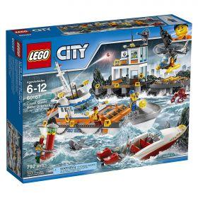 Lego City 60167 Штаб береговой охраны #