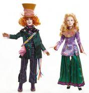 Набор кукол Алиса и Безумный Шляпник, серия  Алиса в Зазеркалье, DISNEY